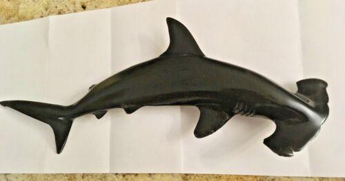 HAMMERHEAD SHARK WALL HANGING - 3D RESIN FIGURE - NAUTICAL WALL ART -