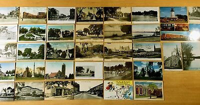 For sale 37 Antique & Vintage Postcards ALL WAKEFIELD, MA Massachusetts 1898-1960