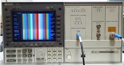 Hp 70004a Spectrum Analyzer System 50khz- 22ghz W 70900b 70902a 70905a Working