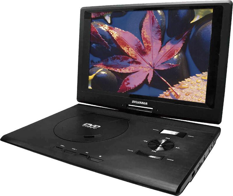 Sylvania - 13.3 Portable DVD Player - Black
