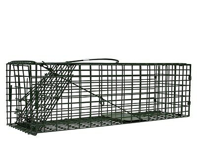 "Duke Live Catch Cage Traps 5""x5""x16"" #1100 Squirrel Rat Chipmunk Humane Trap H.D"