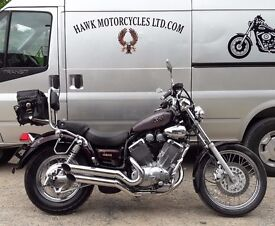 GREAT CONDITION 1998 YAMAHA XV535 VIRAGO WITH F.S.H. AND SOME EXTRAS