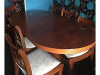 Table and chairs NOW £40 WAS £100
