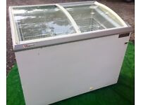 LARGE ICE CREAM DISPLAY FREEZER FREE DELIVERY