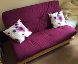 Double fold out futon/sofabed