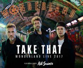 Take That Tickets x 2 - Glasgow - 12th May