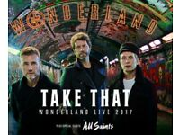 Take That Tickets x 2 - Glasgow - 12th May