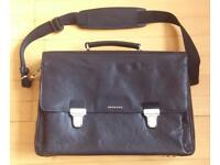 Beautiful Black Leather Highlands Case/Shoulder Bag by Filofax, never used