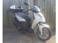 "Aprilia SportCity 250 IE Full MOT New Michelin Tyre 15"" Wheels 100+ MPG 85+ MPH"