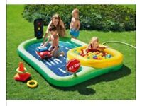 Chad Valley Childrens 'Road' Paddling Pool