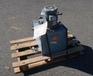 SCOTT INDUSTRIAL SYSTEMS 8835-08 Hydraulic Power Pack