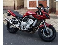 Fazer FZS1000 Good Condition, Service History, MOT 09/04/18, beowulf exhaust, fantastic bike