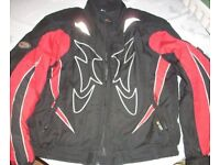 Motorcycle Scooter Bike Jacket Rossi Racing Armour - Size XL