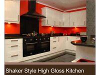 Fantastic offer 10 unit kitchen gloss doors