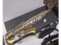 B&S Sonora Brass Alto Saxophone & Case