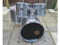 Drums - Pearl Export Shell Pack - Classic 80's kit - New Heads
