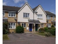 Well presented 2 bed house in Over with 2 parking spaces to front & enclosed garden to rear
