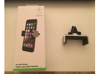 Genuine Belkin Smartphone iPhone Samsung Others Car Holder. Like new.