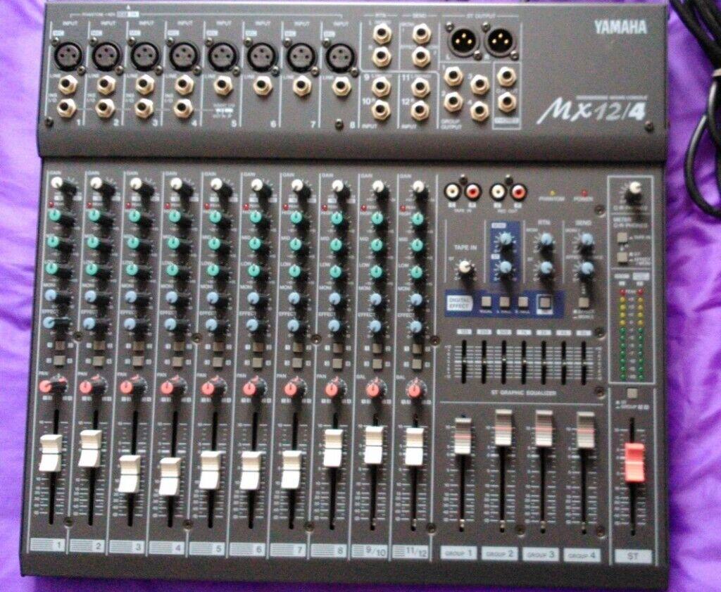 Yamaha MX 12/4 Mixing Desk | in Derriford, Devon | Gumtree