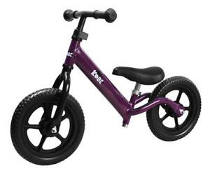 New Kobe Aluminum Balance Bike, Lightest Pre-Bicycle,( PURPLE) PICKUP ONLY PI1