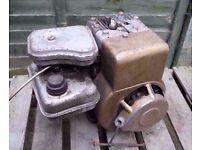 small Rotavator engine
