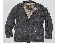 """Belstaff, Brown Sammy Miller, Jacket Size XXL 44/46"""" Chest"""