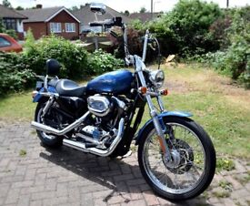 Harley Davidson XL 1200C Sport Custom Motorcycle- Excellent condition