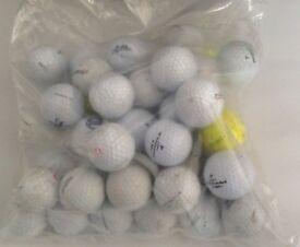 Golf balls plus teas