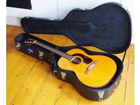 rare and stunning Giannini 380 1953 Brazilian Rosewood Spruce top acoustic guitar