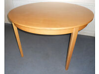 Large Beech Dining or Kitchen Table
