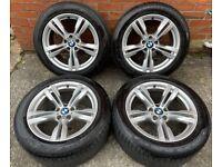 19'' GENUINE BMW X5 M SPORT F15 467 E70 ALLOY WHEELS TYRES ALLOYS 5X120
