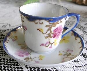 Bone China Cup and Saucer-(100 plus years old)