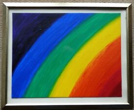 Rainbow Hues by P. Harris