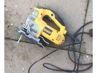 DEWALT DW331K-GB - 701W - JIGSAW 240V, Read Advert. Spares/Repairs. RRP £170