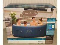 Lay Z Spa MILAN Airjet Plus 6 Person SMART WIFI HOT TUB |BRAND NEW✅