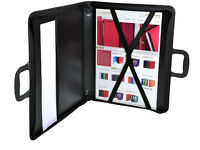 Goldline ZPC-A2Z A2 Portfolio with Interior Pocket, Elastic Straps and Zip *BNIB*