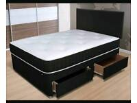 Memory Foam Double Complete Bed £109