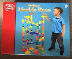 Chad Valley Deluxe Marble Run / Race