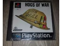 Hogs of war playstation 1 game