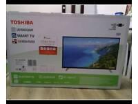 "Toshiba 49"" smart HD tv"