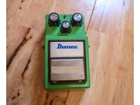 Ibanez TS-9 Turbo Tube Screamer (Keeley Modified) for sale  Edinburgh City Centre, Edinburgh