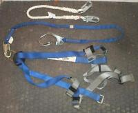 Norguard NPH-28 Fall Arrest / Safety Harness w/ 6' & 4' Lanyards