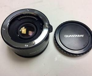 Quantary 2X AF Teleconverter for Minolta/Sony AF in ex++ condition with warranty