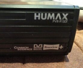 Humax PVR 9150T box with remote
