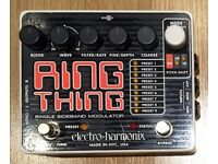 Electro Harmonix RING THING pedal, Excellent