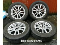 Land Rover 4 x 19 inch 5x120 Alloys with Pirelli 235/65/R19 tyres