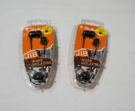 Skullcandy Jib In-Ear Headphones - Black
