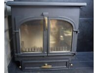 Large Clearview woodburner 12kW refurbished - under half price of new