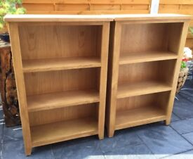 Lovely Oak Bookcase, New / Boxed (2 Available)