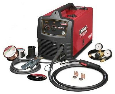 Lincoln Sp-140t Wire Feed Mig Welder 120 Volt 140 Amp Reconditioned U2688-3
